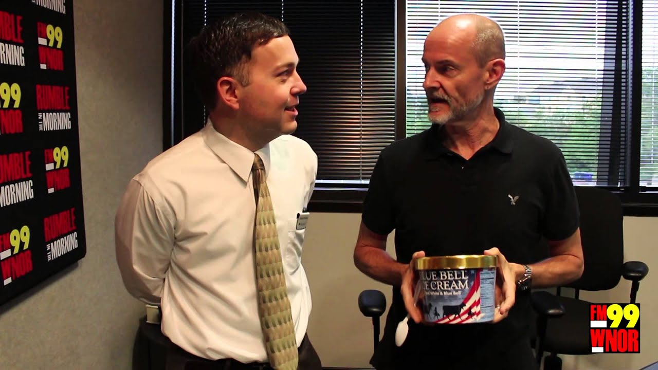 Fm99 S Wnor Rick Rumble Check Out New Blue Bell Ice Cream Flavors Youtube