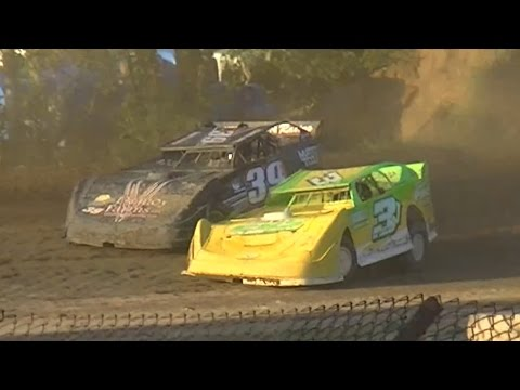 Crate Late Model Heat One | Genesee Speedway | 9-3-16