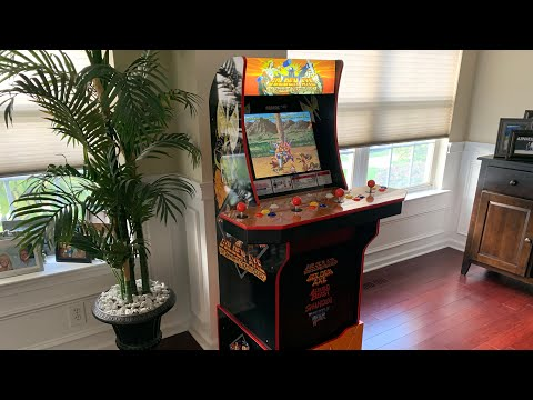 GOLDEN AXE Arcade1up FULL REVIEW! from The 3rd Floor Arcade with Jason