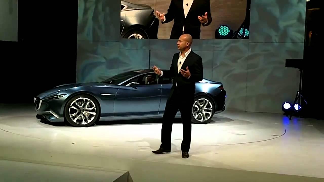 Mazda Shinari Concept   2010 LA Auto Show - YouTube