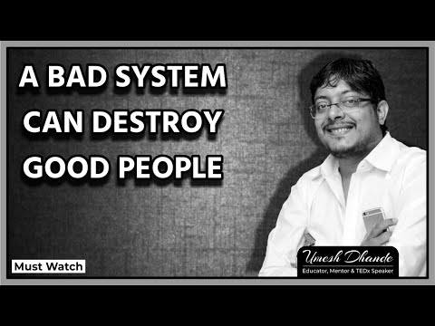 a-bad-system-can-destroy-good-people-|-morning-mantra-|-must-watch-|-motivation-|-be-the-change