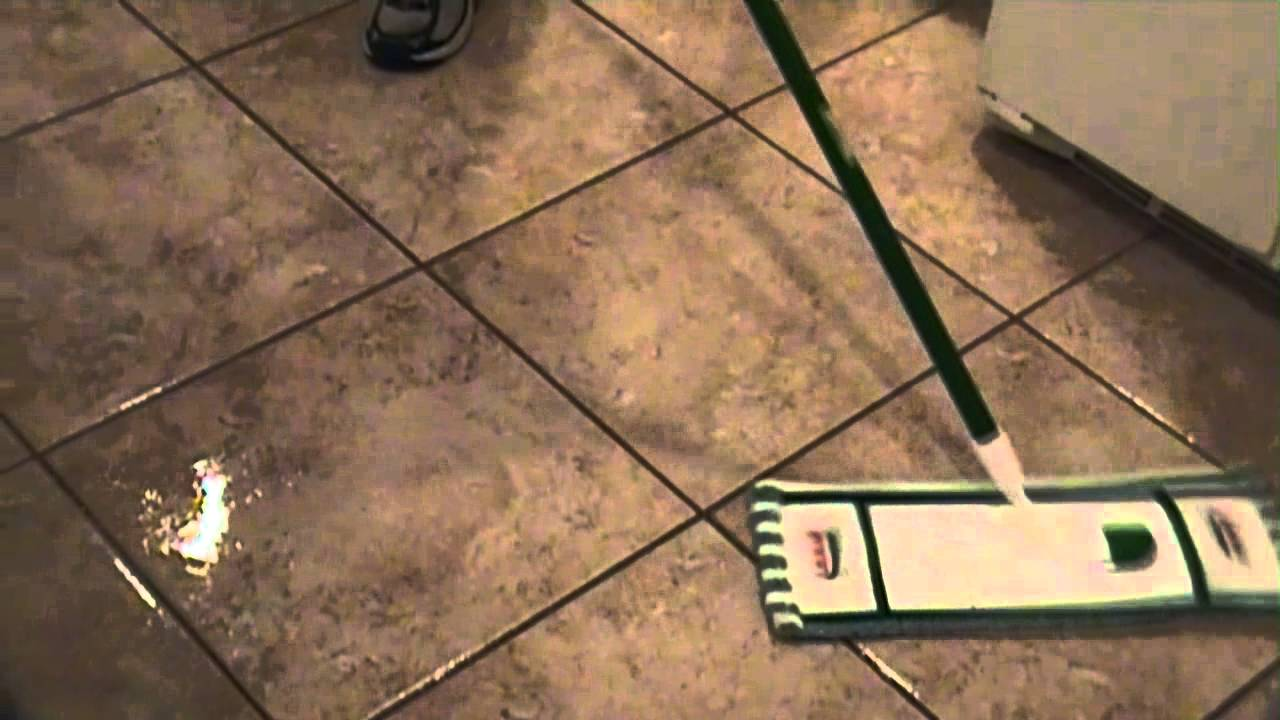 Cleaning Tile Floor And Seal Grout Lines YouTube - Clean and seal grout lines