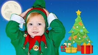 Head, Shoulders, Knees and Toes   Christmas Song   Nursery Rhymes & Kids Songs by Olivia