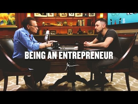 Thumbnail: BEING AN ENTREPRENEUR | Gary Vaynerchuk With Larry King 2016
