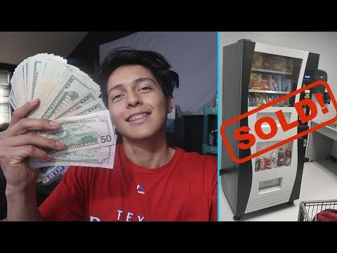 Selling My Vending Machine Business...