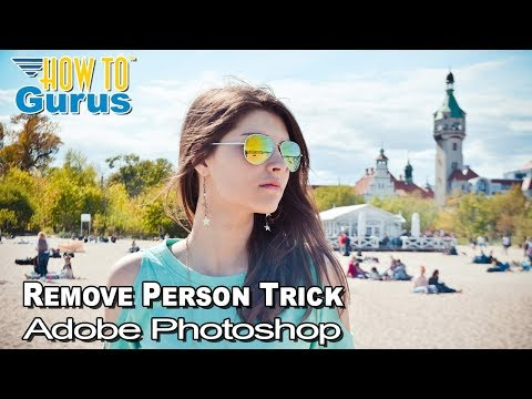 How To Photoshop Elements Remove People With Clone Stamp Tool - Photoshop Elements 2019 2018 15 14