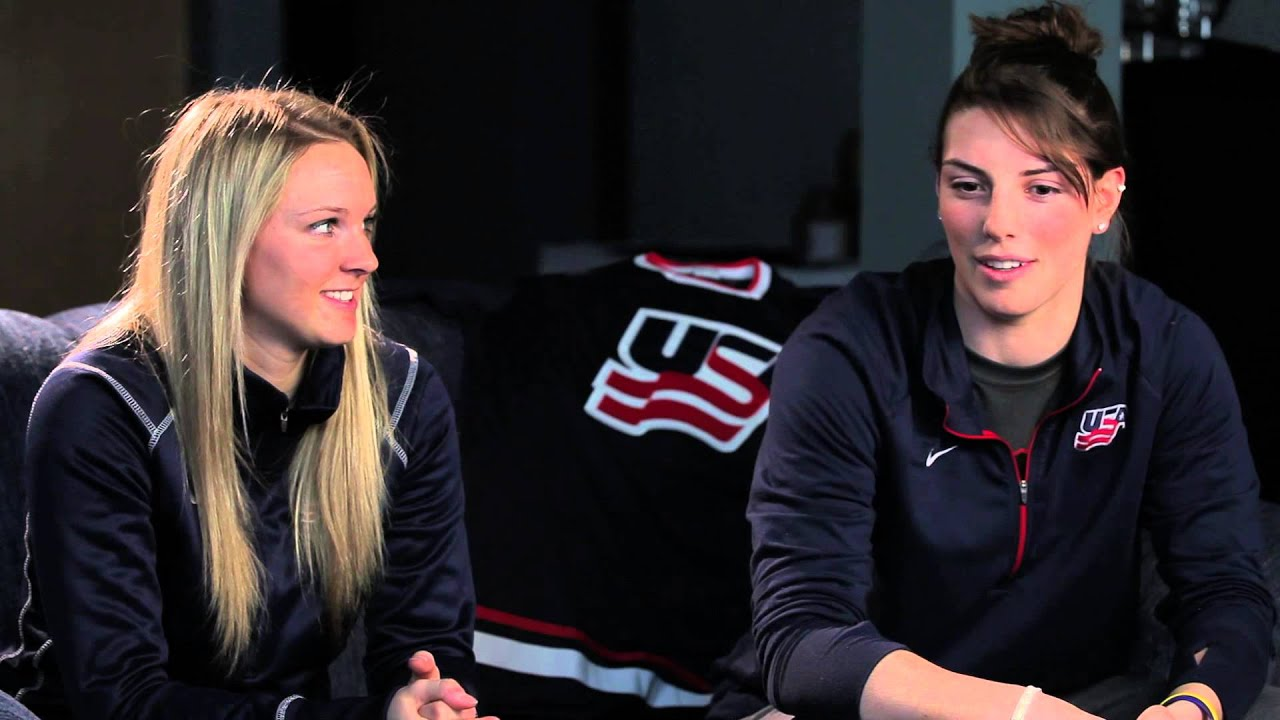 Team USA Women Player Profile: Amanda Kessel, Forward - YouTube