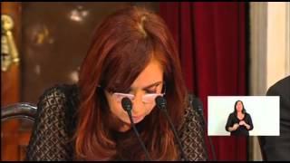 Situación educativa en Argentina. Fragmento discurso Cristina Fernández Sesiones Ordinarias