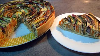 ПИРОГ С СЫРОМ И ОВОЩАМИ вкусный рецепт от Inga Avak