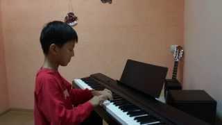 Кумпарсита. Сабырулы Алихан. Обучение игре на фортепиано. Студия Акустик.