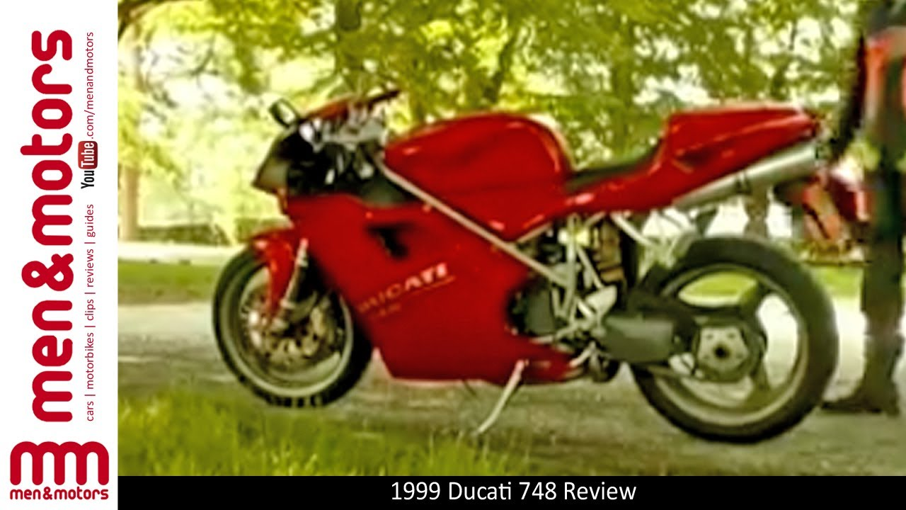 1999 ducati 748 review - youtube