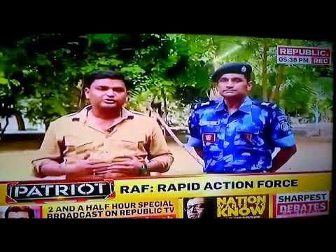 Jitendra Singh, Deputy Commandant, Rapid Action Force, The Force In Blues