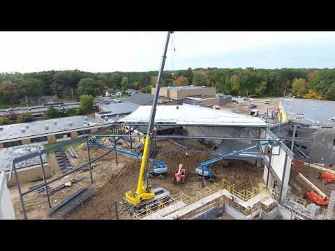 FCC Construction steel crews - Fruitport High School