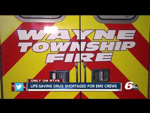 EMS crews facing shortages of potentially life-saving drugs