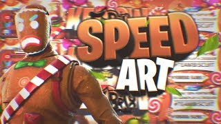   Speed Art   🍭Banner Style Games For @KEIDOW