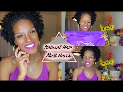 Natural Hair Must Haves | Newly Natural | Transitioning | 4C Hair