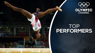 Simone Biles pursuing history at Tokyo 2020 | Top Performers
