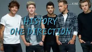 Lagu History one direction (lirik) by.8a.2