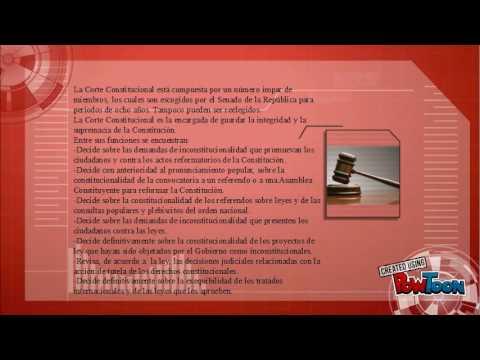 Así funciona la rama judicial en Colombia
