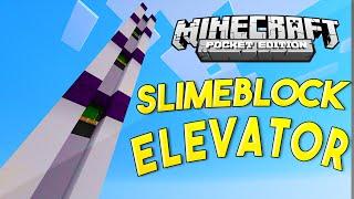 Mcpe Redstone Tutorial - Epic Slimeblock Elevator!!