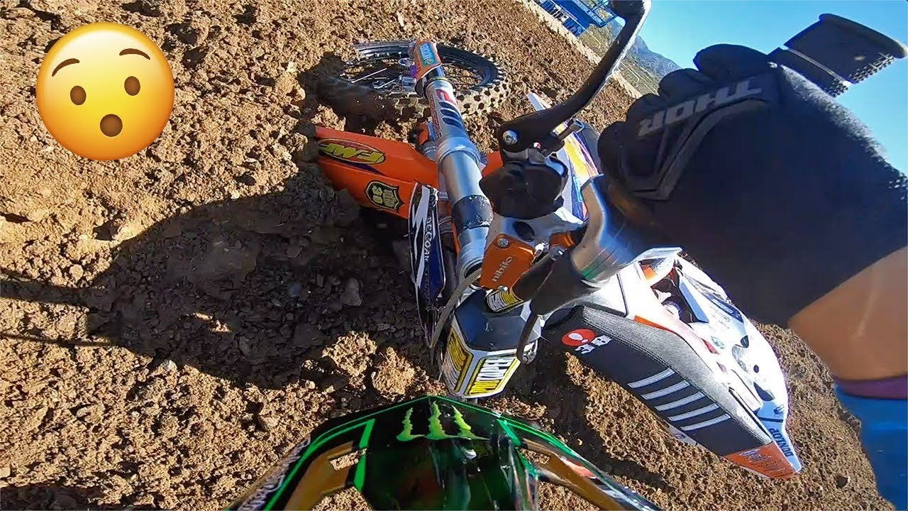 DON'T DO THIS ON A PRO TRACK!!! Dangerboy Deegan GoPro raw