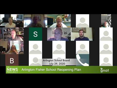 The News Project - Arlington Fisher School Reopening Plan