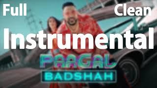 Badshah Paagal Song Full Instrumental Karaoke