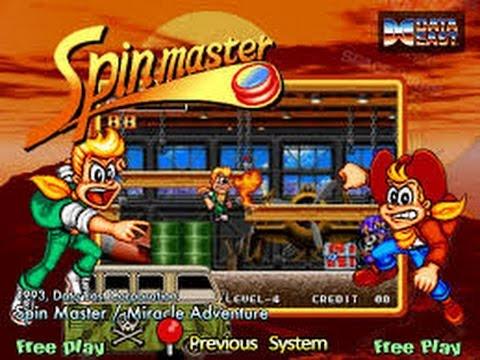 Spin Master (Arcade)