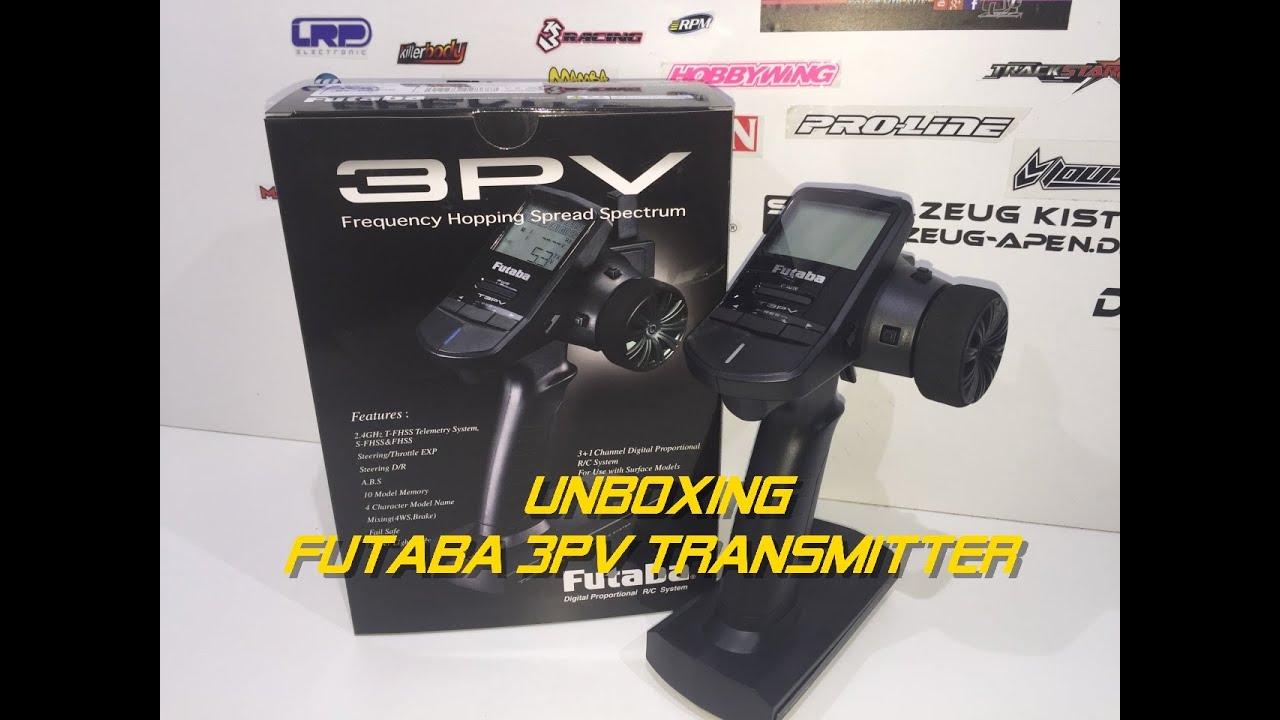 Unboxing New Futaba 3PV German Full HD