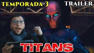 (Siiiii) / TITANS temporada 3 trailer reaccion (red Hood) - alejozaaap
