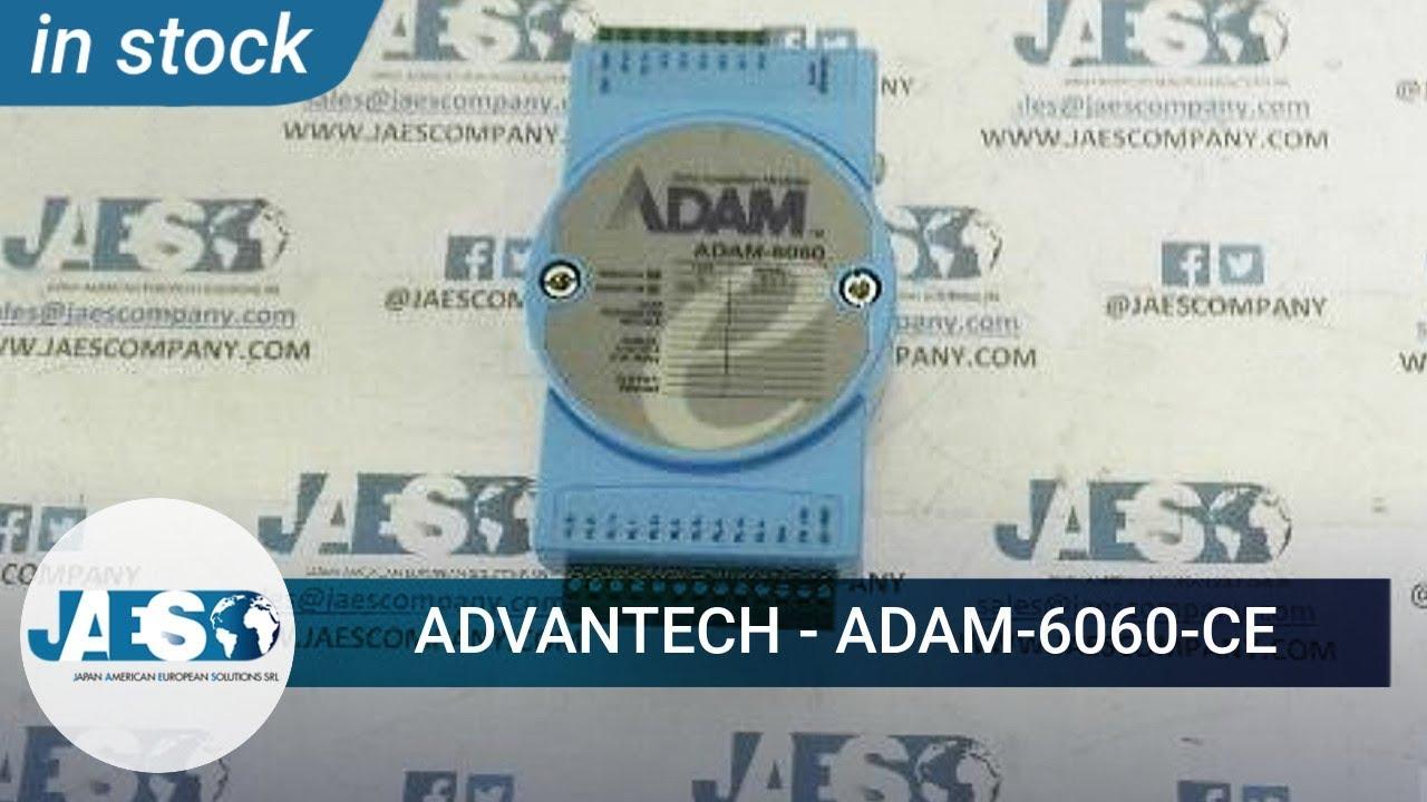 Advantech 15-ch Isolated Digital I//O Modbus TCP Module