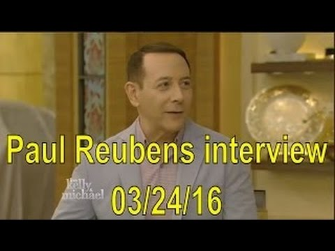 Paul Reubens interview Live! With Kelly and Michael 03/24/16