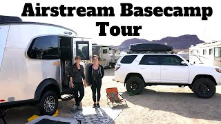 RV Tour | Solo Female Fulltime RV living for 2 years in an Airstream Basecamp X