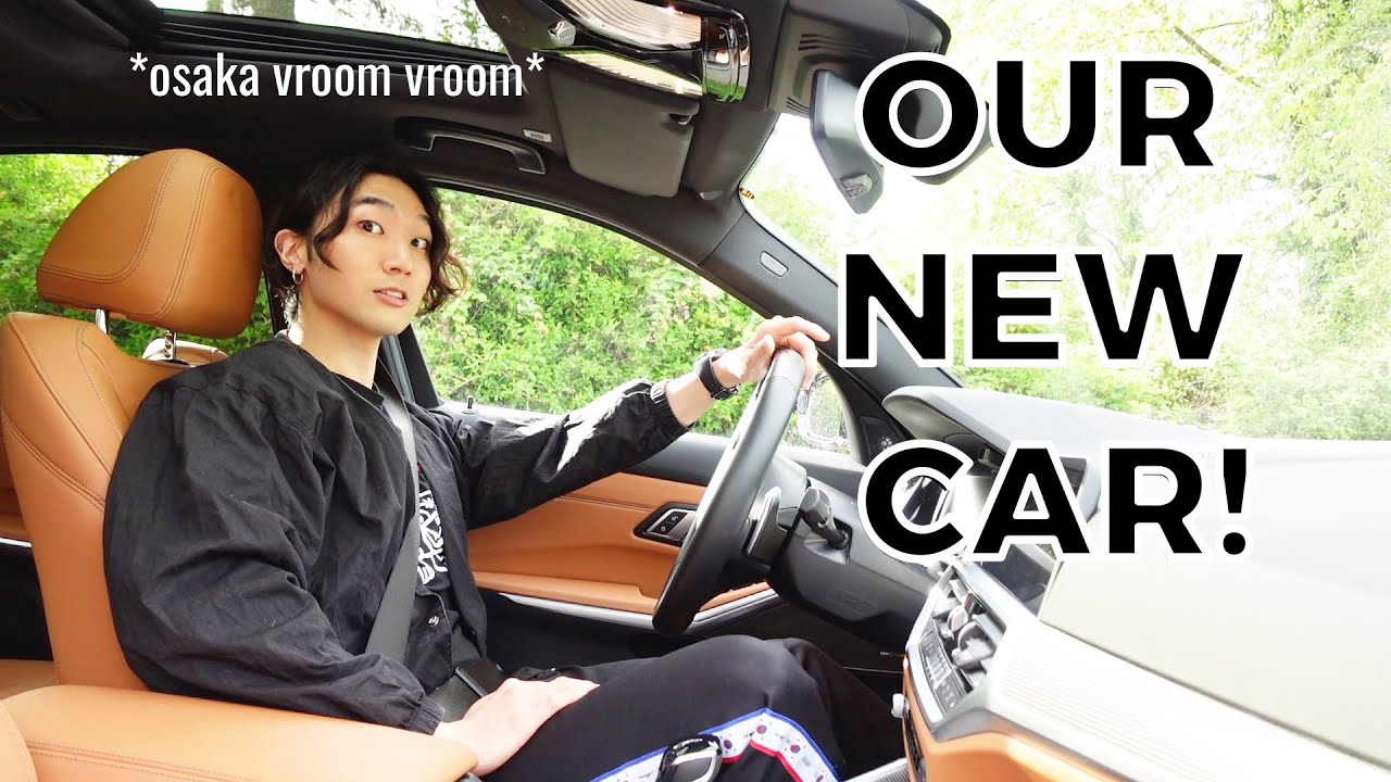 Getting our new CAR and going VEGAN!