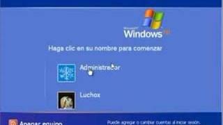Recuperar la contraseña de windows xp