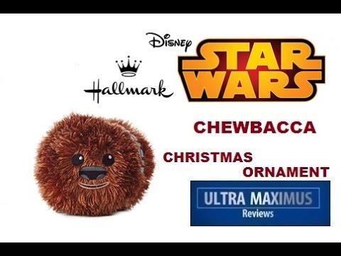 chewbacca hallmark fluffballs star wars christmas ornament - Chewbacca Christmas Ornament