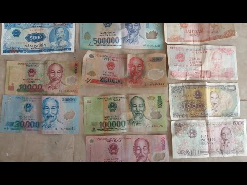 Currency Money: Vietnam Dong VND #VND #vietnamdong #currencymoney