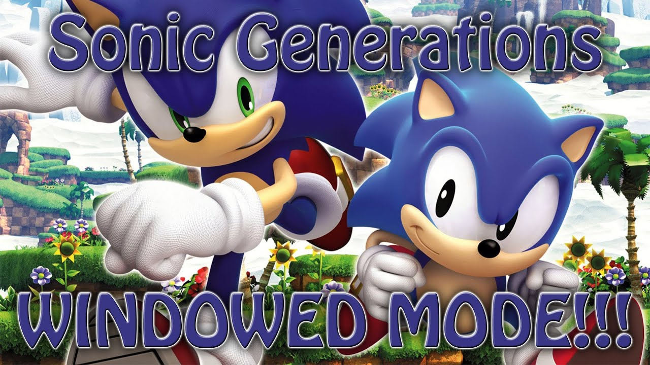Sonic Generations PC - (1080p) Part 2 - Chemical Plant ...  |Sonic Generations 2 Player Mode