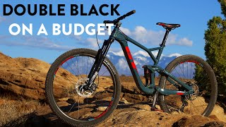 Tackling double diamonds on an affordable bike?