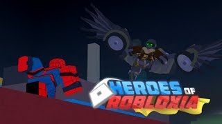 Roblox | Heroes of Robloxia | Spider-Man's Mask Tutorial |