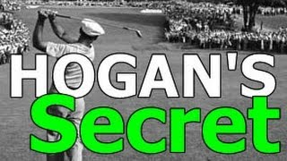 Ben Hogan Golf Swing Secret: Gain Distance