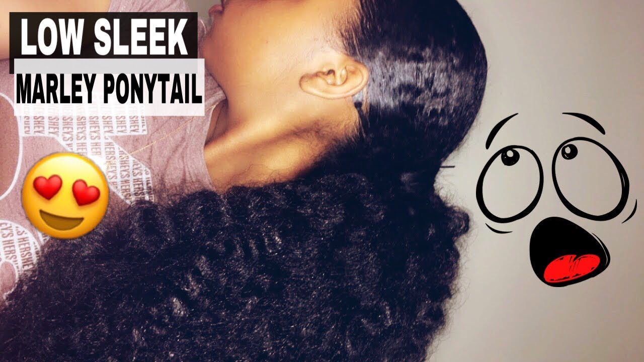 ponytail styles hair the best marley ponytail 7987