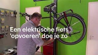 Een elektrische fiets opvoeren: 'fluitje van een cent' - RTL NIEUWS