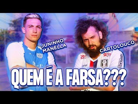 DESAFIO DE FUTEBOL COM JUNINHO MANELLA! RESENDE X SÃO BENTO!