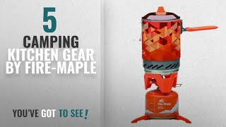 Top 5 Fire-Maple Camping Kitchen Gear [2018]: Fire-Maple Star FMS-X2 Outdoor Cooking System Portable