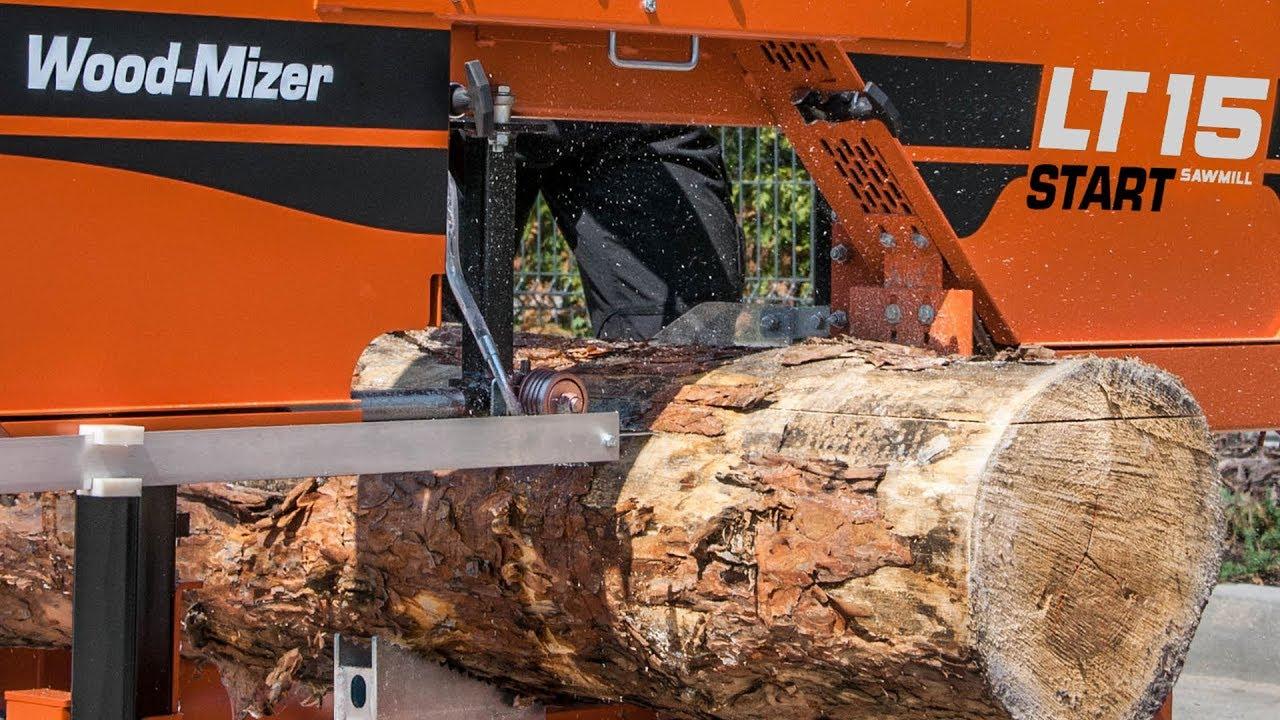 100% huippulaatua uusi halpa lähemmäs Affordable LT15START Sawmill   Wood-Mizer Europe