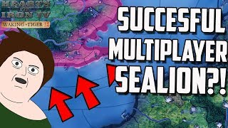 Successful Operation Sealion IN MULTIPLAYER?! HOI4