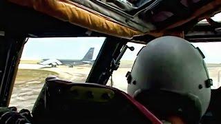 B-52 Training Mission • Cockpit View & Pilot Comms