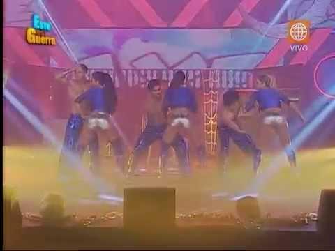 Esto es Guerra: Michelle, Sheyla y Melissa Loza bailaron al ritmo de Axe - 21/10/2015