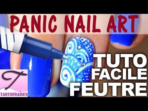 nail art feutre